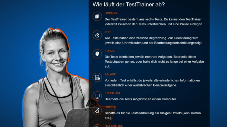 Vorbereitung auf ein Online-Assessment in der IT-Branche